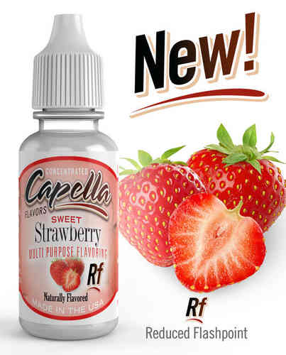 Sweet Strawberry Rf Flavor Concentrate - 13ml