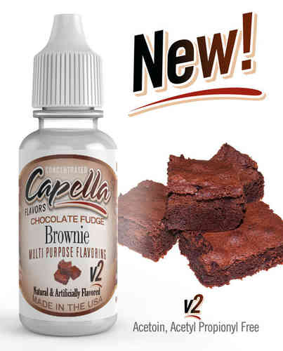 Chocolate Fudge Brownie v2 Flavor Concentrate - 13ml