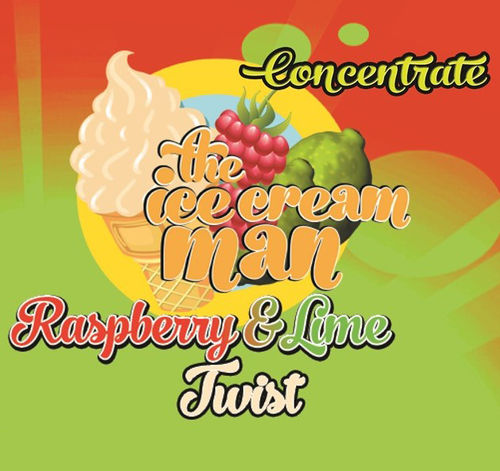 Raspberry & Lime Twist Concentrate - 30ml The Icecream Man