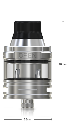 Eleaf ELLO Atomizer 2 ml (25mm) Silver