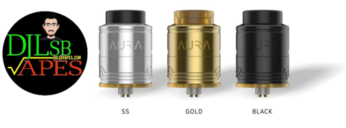 AURA Digiflavor RDA designed by DJLsb Vapes