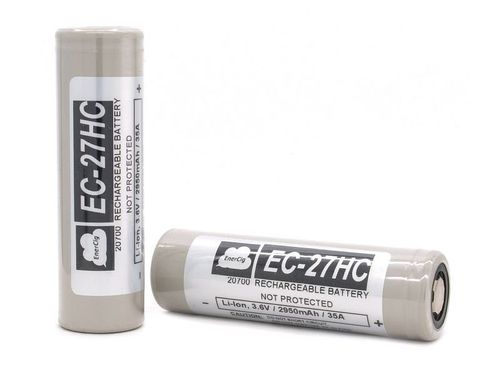 Enercig 20700 EC-27HC 2950mAh 35A flat top battery