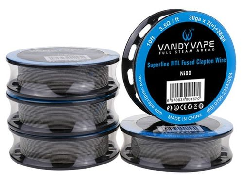 Superfine MTL Fused Clapton wire (3m) by Vandy Vape
