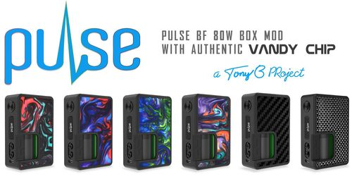 Pulse 80W BF Squonk + 30 ml Refill Bottle by Vandy Vape