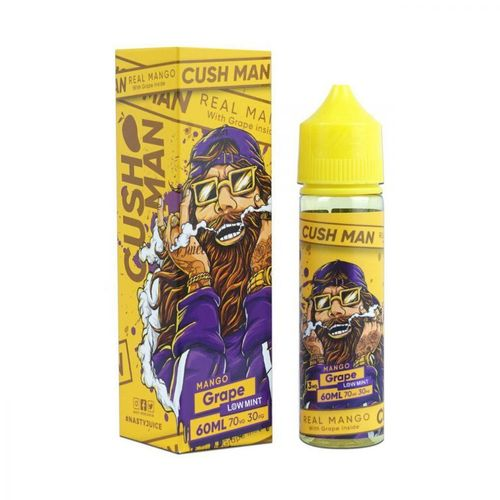 Cush Man - Mango Grape (50ml em bottle 60ml Short Fill)