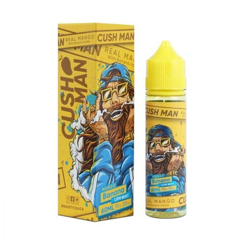 Cush Man - Mango Banana (50ml em bottle 60ml Short Fill)