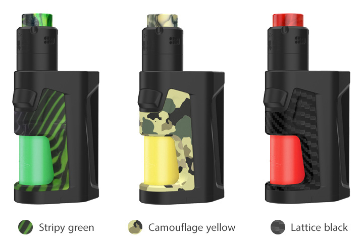 New Colours Pulse DUAL 18650 KIT Squonk by Vandy Vape