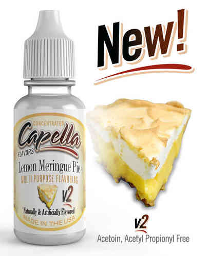 Lemon Meringue Pie v2 Flavor Concentrate - 13ml