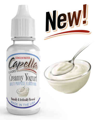 Creamy Yogurt Flavor Concentrate - 13ml