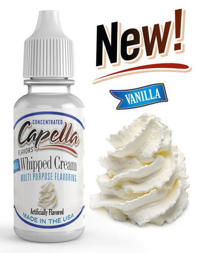 Vanilla Whipped Cream Flavor Concentrate - 13ml