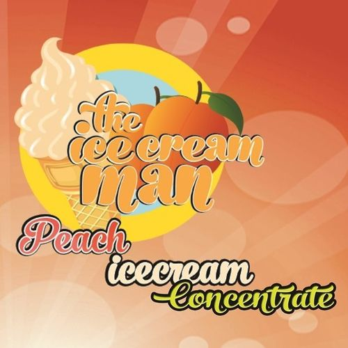 Peach Icecream Concentrate - 30ml The Icecream Man
