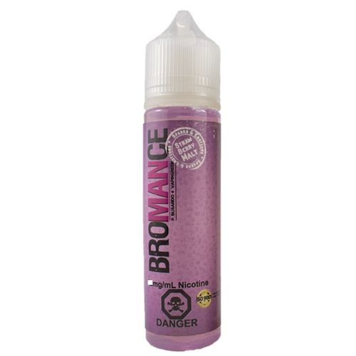 Bromance - Strawberry Malt (50ml em bottle 60ml Short Fill)