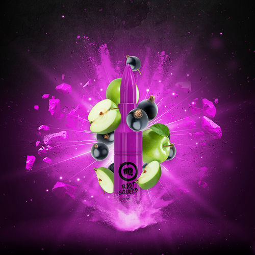 Riot Squad - GRAPPLE & SLAPCURRANT (50ml em bottle 60ml Short Fill)