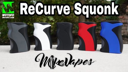 Wotofo Recurve Squonk Mod Designed by Mike Vapes