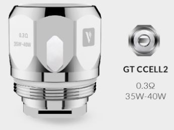 Vaporesso GT Ccell II 0,3ohm - Pack 3