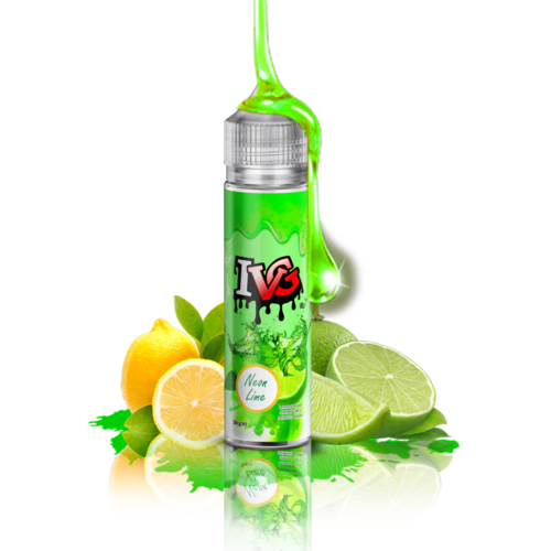 I VG Neon Lime - 50ml em Unicorn bottle 60ml - (NicShot Ready)