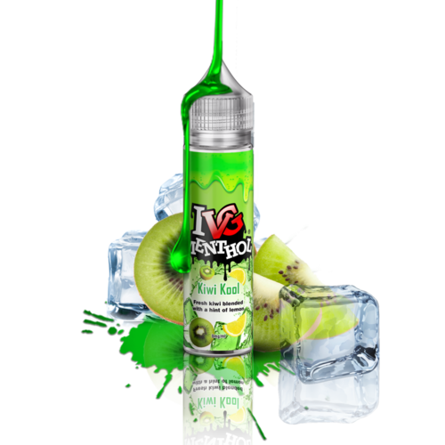 I VG Menthol Kiwi Cool - 50ml em Unicorn bottle 60ml - (NicShot Ready)