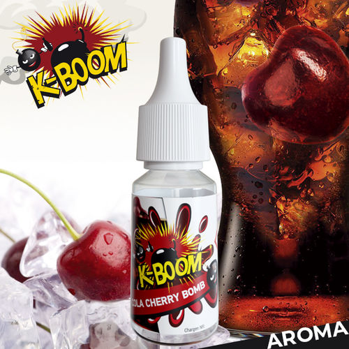 Concentrado K-Boom Cola Cherry Bomb 10ml