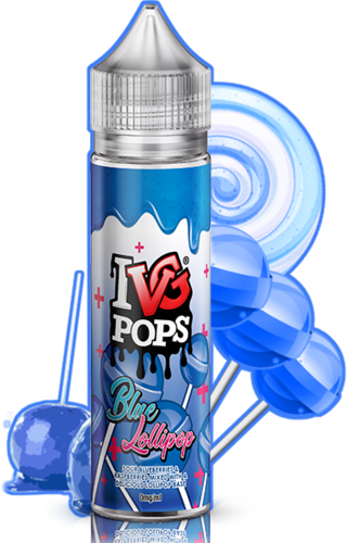 I VG POPS Blue Lollipops - 50ml em Unicorn bottle 60ml - (NicShot Ready)