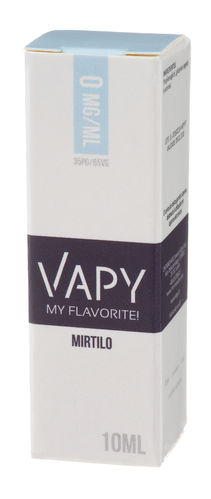 Vapy Mirtilo - 10ml (0mg)