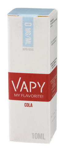 Vapy Cola - 10ml (0mg)