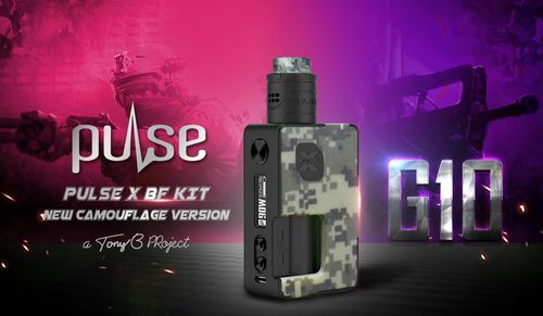 Pulse X G10 BF KIT (without refill bottle) - Camouflage