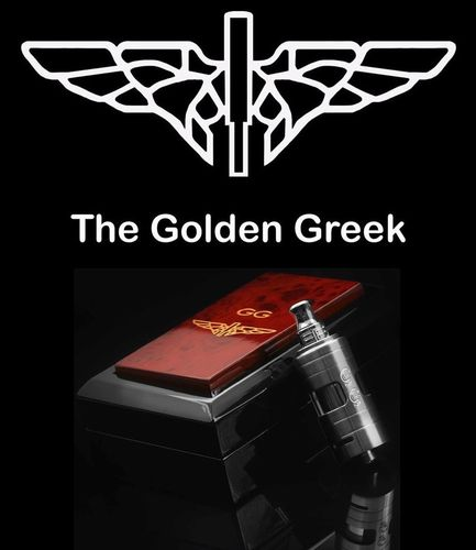 Golden Greek Tilemahos Armed Eagle by Imeo Thanasis - 23mm Matte