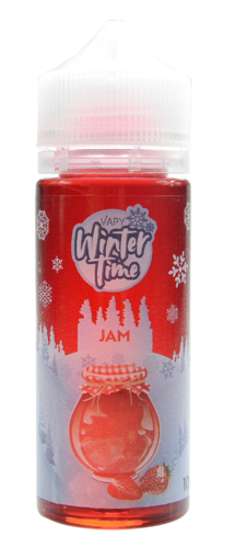 Vapy Winter Time Jam- 100ml em garrafa 120ml (Short Fill)