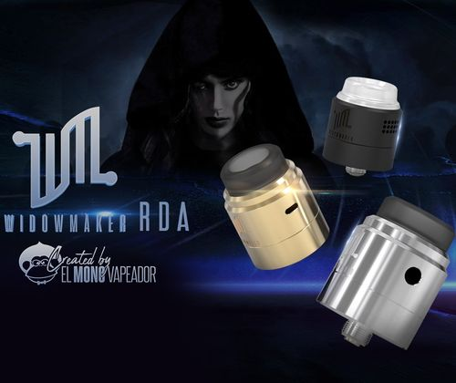 WIDOWMAKER RDA Vandy Vape Created by El Mono Vapeador