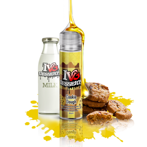 I VG Dessert Cookie Dough - 50ml em Unicorn bottle 60ml - (NicShot Ready)