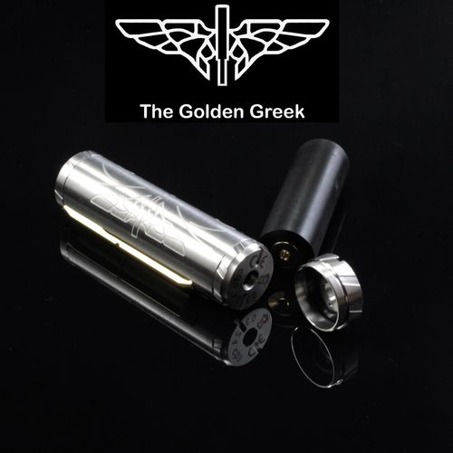 Golden Greek Cybrillion by Imeo Thanasis - 21700 25mm SS Matte
