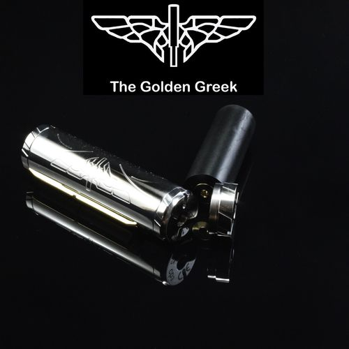 Golden Greek Cybrillion by Imeo Thanasis - 21700 25mm SS Shined