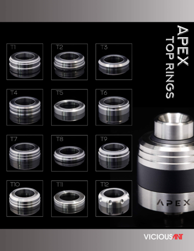 Top Ring Apex RDA by Vicious Ant