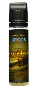 Drops Fausto's Deal - 50ml em Unicorn bottle 60ml - (Preparado para adicionar 10ml NicShot)