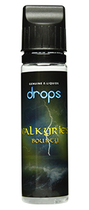 Drops Valkyries's Bounty - 50ml em Unicorn bottle 60ml - (Preparado para adicionar 10ml NicShot)