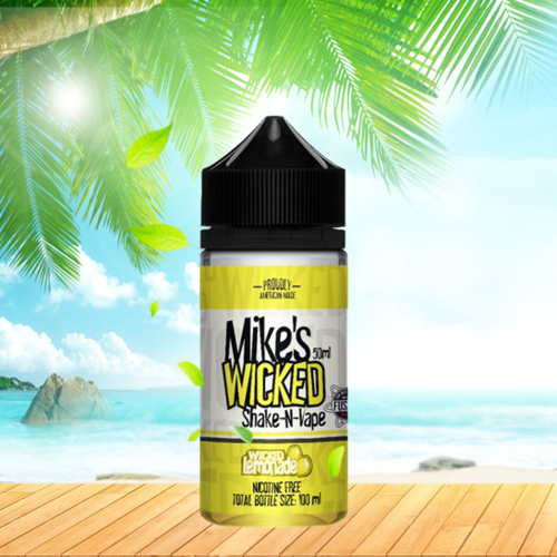 Mikes Wicked by Halo - Wicked Lemonade - 50ml em Unicorn bottle 100ml
