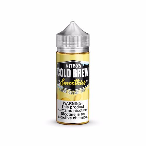 Nitro's Cold Brew SMOOTHIES Mango Coconut Surf - 100ml em Unicorn bottle 120ml 0mg