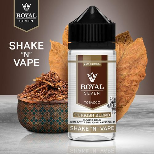 Royal Seven By Halo Turkish Blend - 50ml em Unicorn bottle 100ml