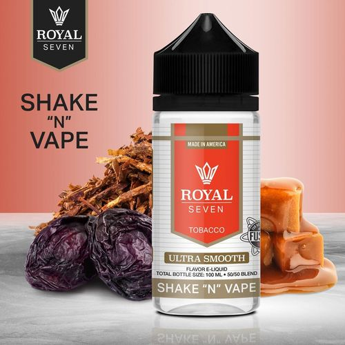 Royal Seven By Halo Ultra Smooth - 50ml em Unicorn bottle 100ml