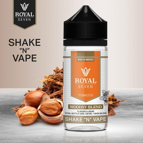 Royal Seven By Halo Woodsy Blend - 50ml em Unicorn bottle 100ml