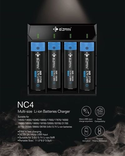 Efan NC4 4-bay Intelligent Charger