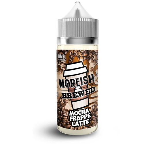 Moreish Brewed Mocha Frappe Latte Short Fill - 100ml em Unicorn bottle 120ml
