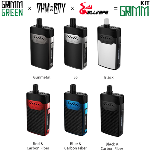 GRIMM KIT by Grimm Green + OHM Boy + Hell Vape