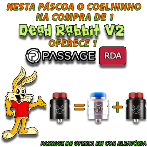 Dead Rabbit V2 RDA by HellVape