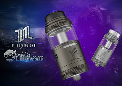WIDOWMAKER RTA Vandy Vape Created by El Mono Vapeador