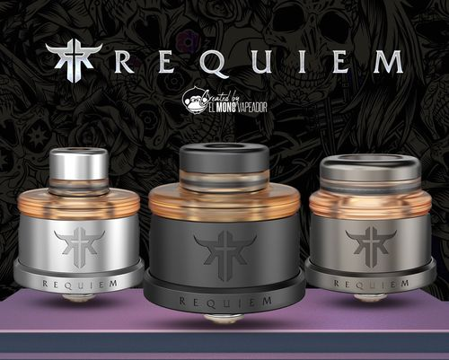 REQUIEM RDA Vandy Vape Created by El Mono Vapeador